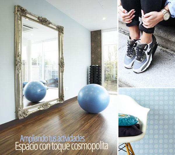 Reforma tu gimnasio en un lugar cosmopolita y a la moda.