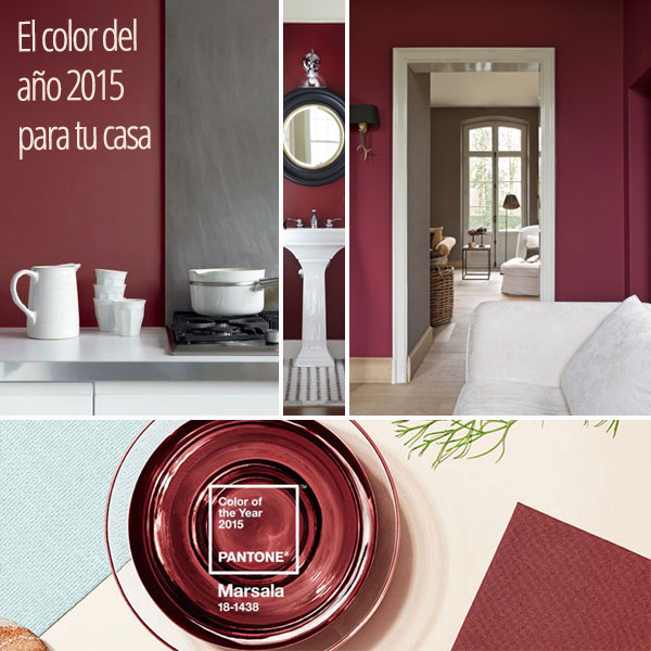 El color año 2015 para tu casa - reforma cocina - salón y baño