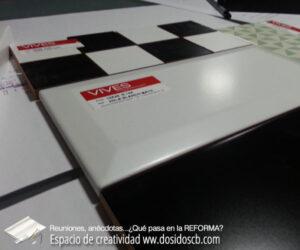 elección azulejos metro biselados 10x20cm