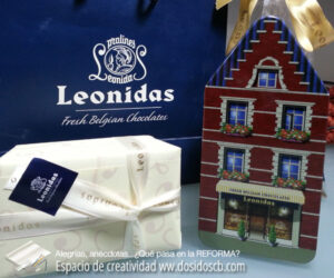 Los clientes nos han regalado bombones porque están muy contentos con su reforma