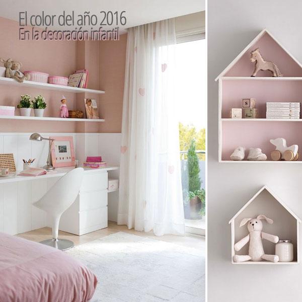 El color del año 2016 para una habitación infantil