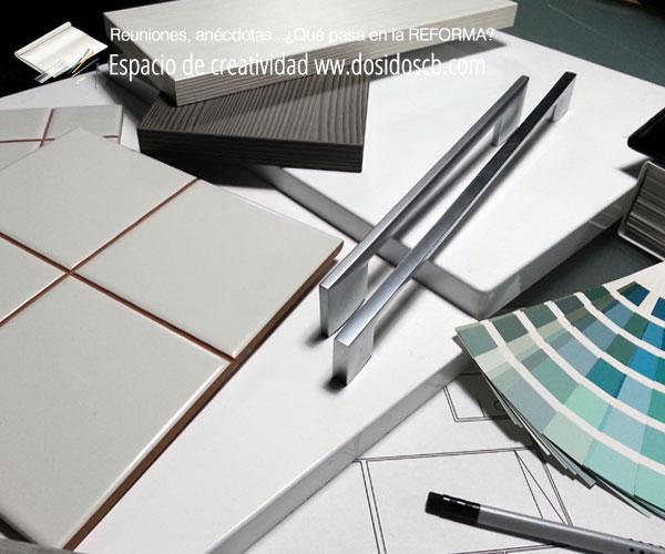 reunion elección muebles cocina azulejos y color