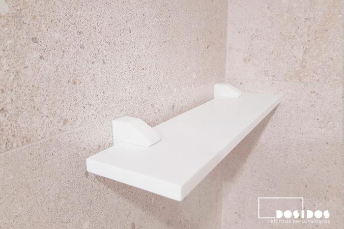 Estante krion ducha moderna
